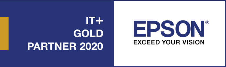 Epson IT+ Gold Partner 2020